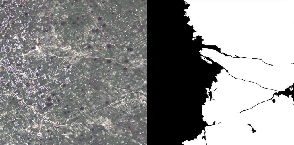 Crops detection in satellite imagery.